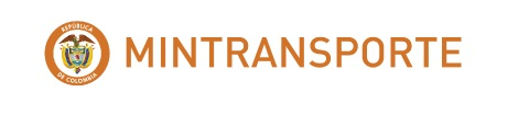 Gráfica logo Mintransporte